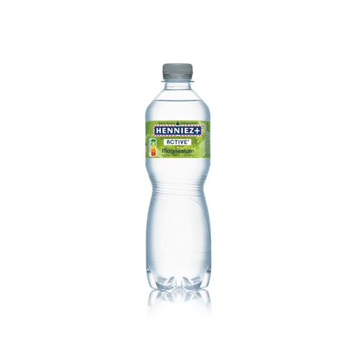 Bouteille d'eau HENNIEZ + Magnésium 50cl