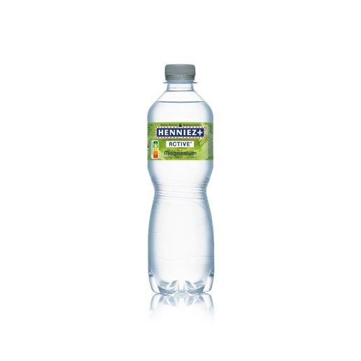Flasche HENNIEZ + Magnesium 50cl