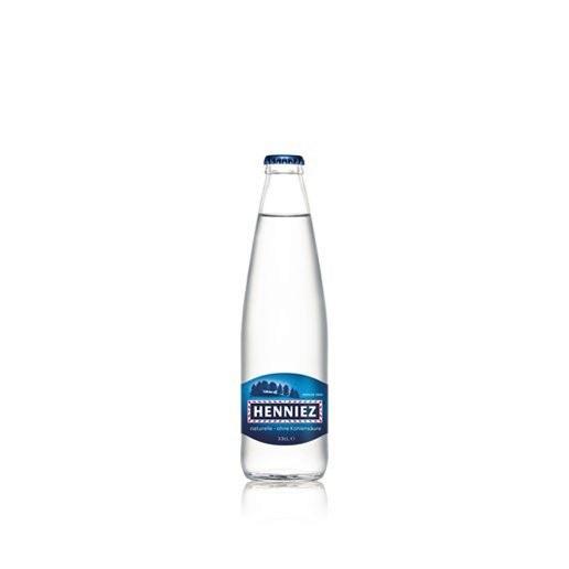 Bouteille d'eau HENNIEZ naturelle 33cl en verre