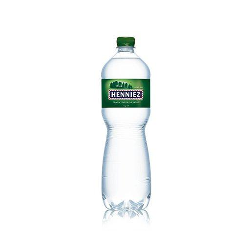 Flasche HENNIEZ leicht prickelnd PET 100cl