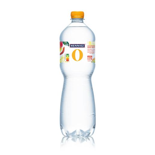 Bouteille d'eau HENNIEZ 0 mangue-yuzu 100cl