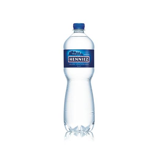 Bouteille d'eau HENNIEZ naturelle en PET 100cl