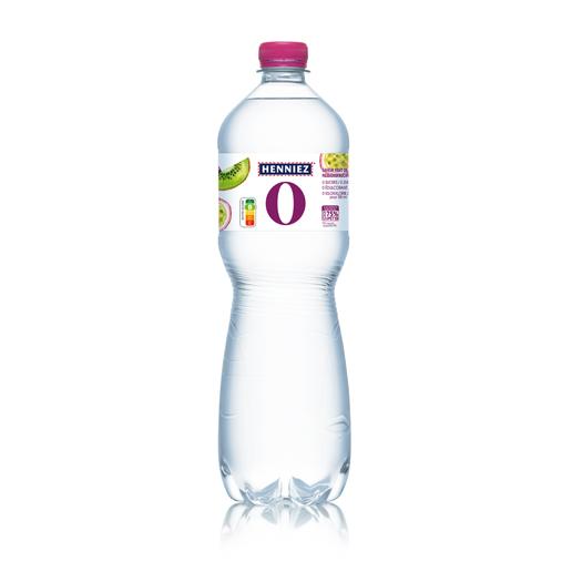 Bouteille d'eau HENNIEZ 0 passion-kiwi 100cl