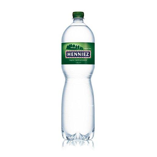 Bouteille d'eau HENNIEZ légère en PET 150cl