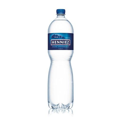 Flasche HENNIEZ ohne Kohlensäure PET 150cl
