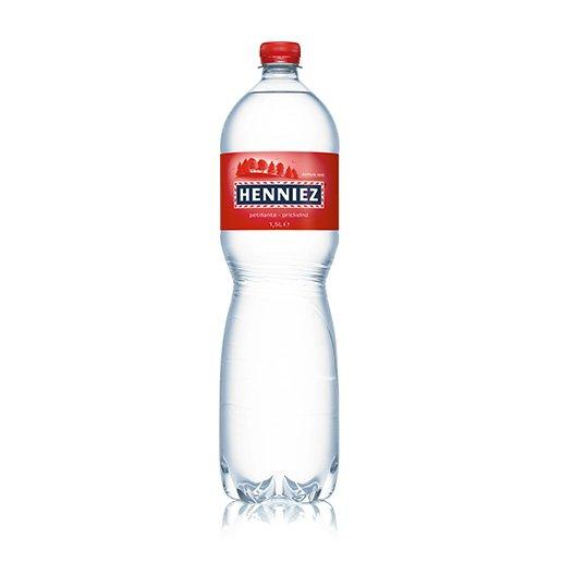 Bouteille d'eau HENNIEZ pétillante en PET 150cl