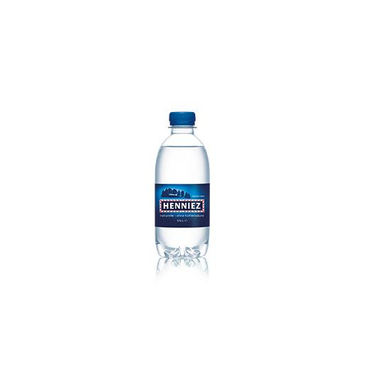 Flasche HENNIEZ ohne Kohlensäure PET 33cl