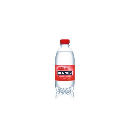 Flasche HENNIEZ prickelnd PET 33cl