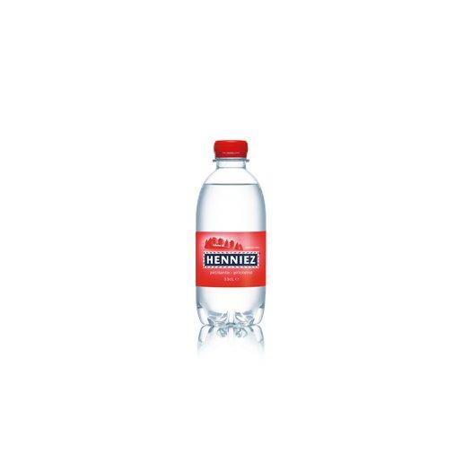 Bouteille d'eau HENNIEZ pétillante en PET 33cl