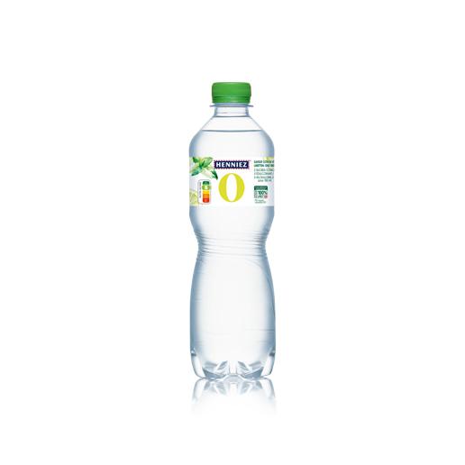 Bouteille d'eau HENNIEZ 0 citron-mélisse 50cl