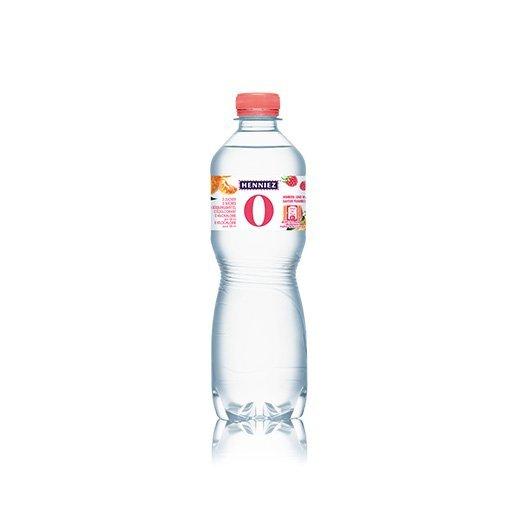 Flasche HENNIEZ 0 Himbeer-Mandarine 50cl