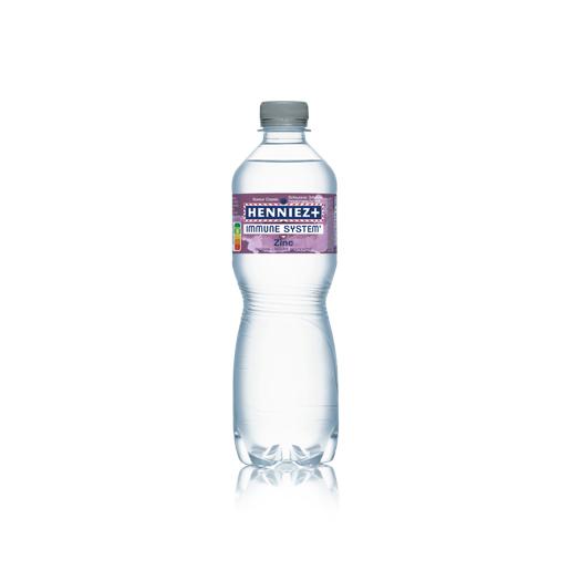 Bouteille d'eau HENNIEZ + IMMUNE SYSTEM ZINC
