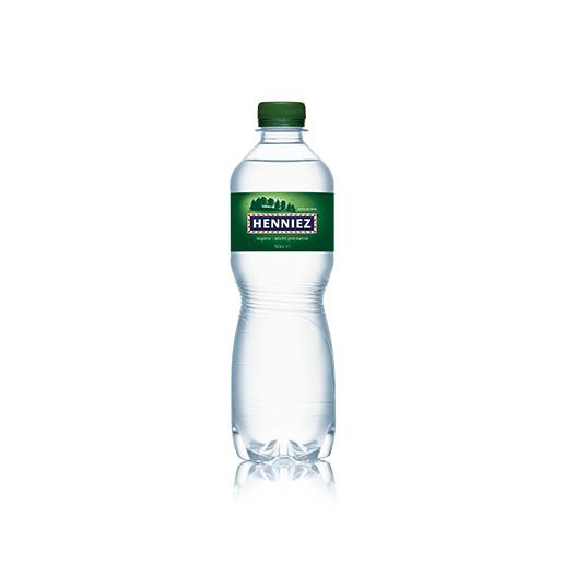Flasche HENNIEZ leicht prickelnd PET 50cl