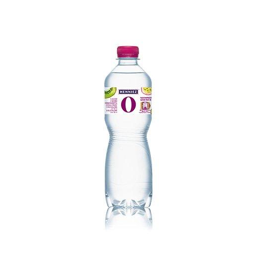 Bouteille d'eau HENNIEZ 0 passion-kiwi 50cl
