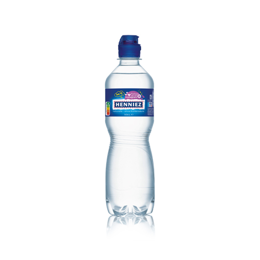 Flasche HENNIEZ Sportscap PET 50cl
