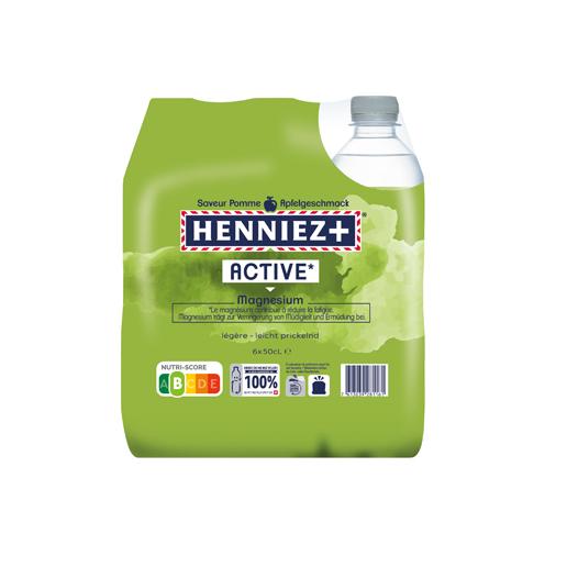 Pack de HENNIEZ + Magnésium 6x50cl