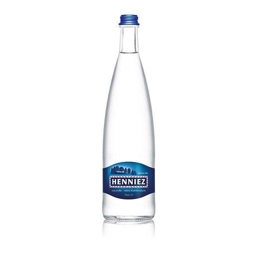 Bouteille d'eau HENNIEZ naturelle 75cl en verre